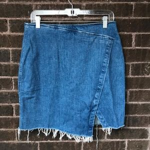 Jean Skirt from Madewell Size 12